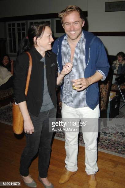 Shawna Lutger and Justin Beal attend West of Rome Public Art Presents Mike Kelley and Michael Smith A Voyage of Growth and Discovery at Eagle Rock on...