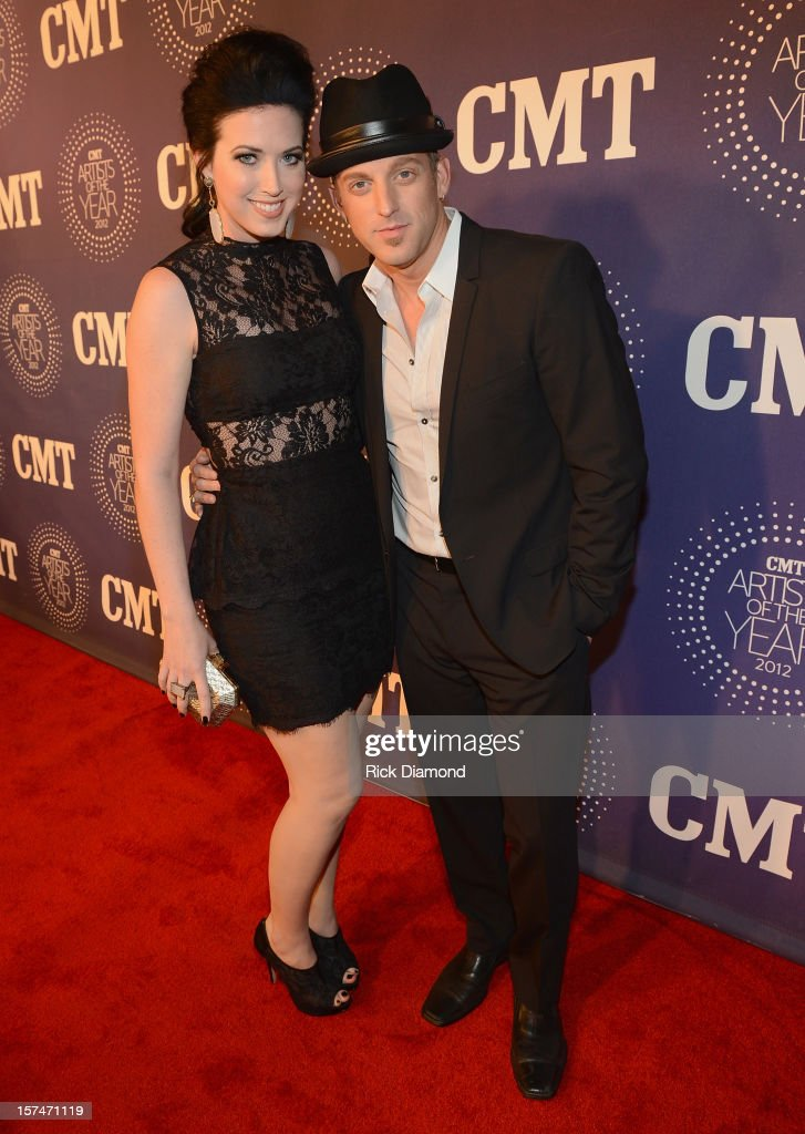 Shawna Thompson and Keifer Thompson of Thompson Square attend 2012 CMT Artists Of The Year at The Factory at Franklin on December 3, 2012 in Franklin, Tennessee.