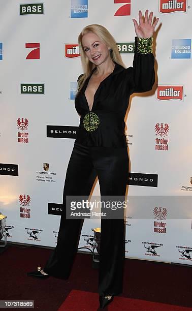 Shawne BorerFielding attends the 'Movie meets Media' Night at Hotel Atlantic on December 3 2010 in Hamburg Germany