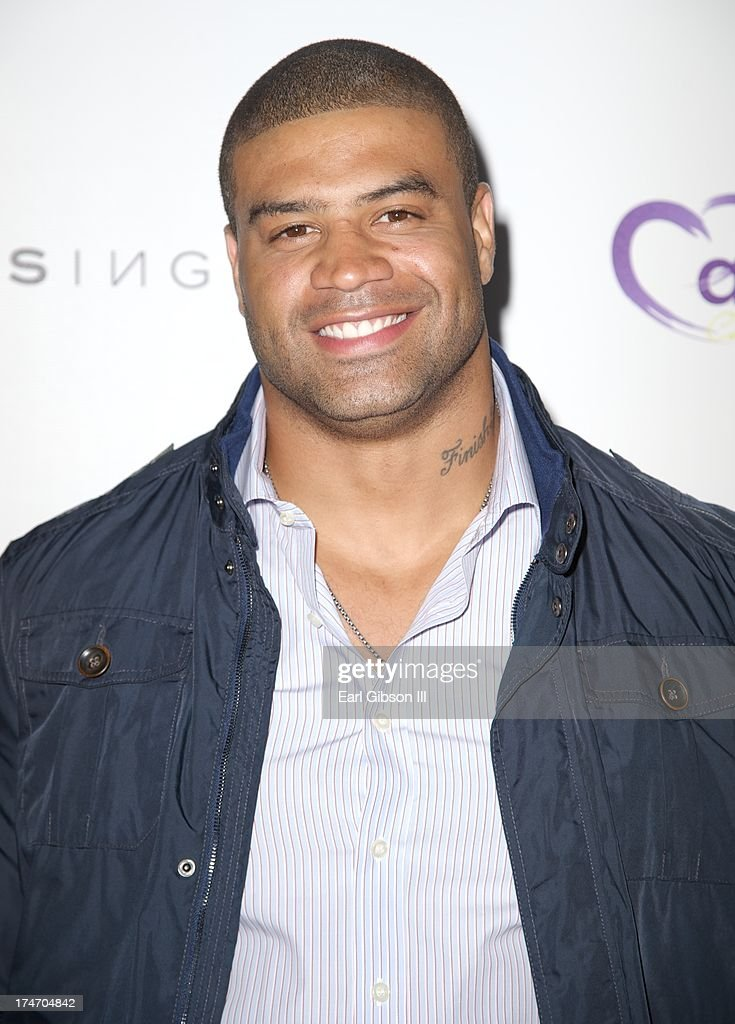 <a gi-track='captionPersonalityLinkClicked' href=/galleries/search?phrase=Shawne+Merriman&family=editorial&specificpeople=583125 ng-click='$event.stopPropagation()'>Shawne Merriman</a> attends the 15th Annual DesignCare on July 27, 2013 in Malibu, California.