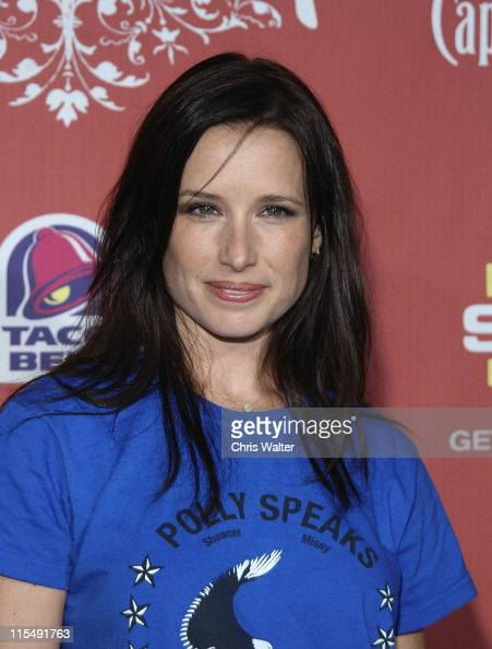 Shawnee Smith arrives at Spike TV's 'Scream 2007' held at The Greek Theatre on October 19 2007 in Los Angeles California