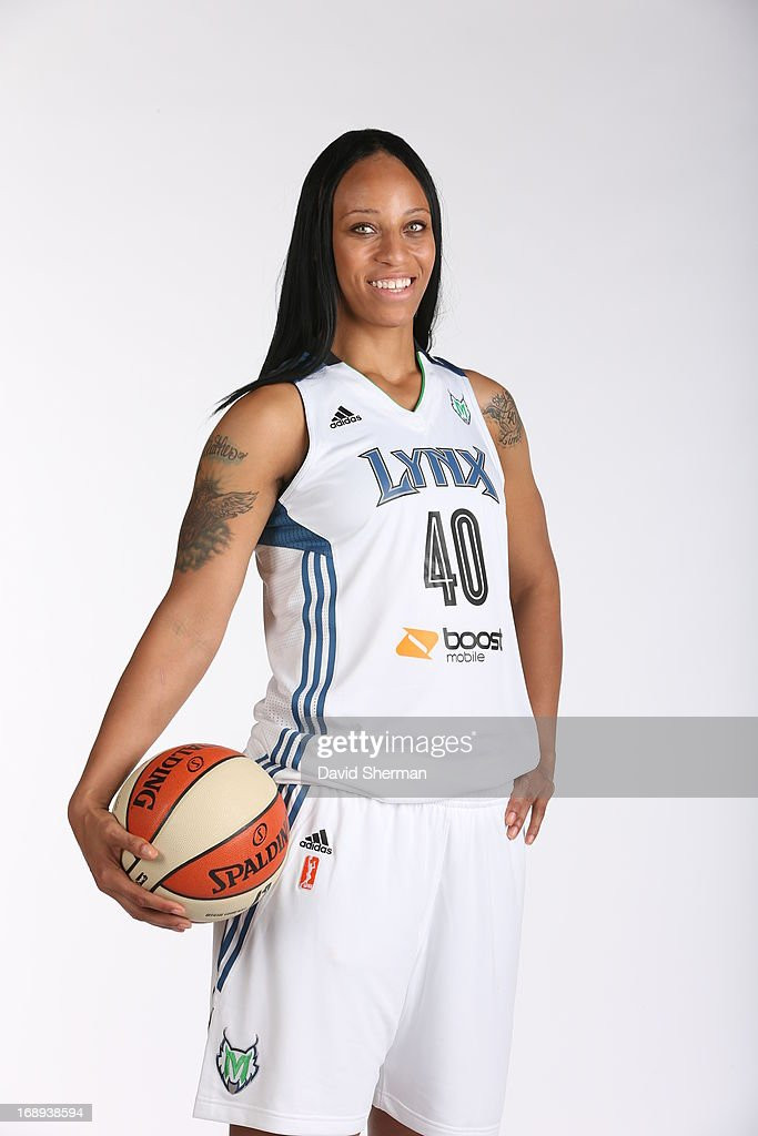 Shawnice Wilson #40 of the Minnesota Lynx poses for portraits during 2013 Media Day on May 16, 2013 at the Minnesota Timberwolves and Lynx LifeTime Fitness Training Center at Target Center in Minneapolis, Minnesota.