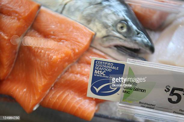 Shaw's launches an aggressive sustainable seafood program highlighted by the new availability of fresh case products certified by the Marine...