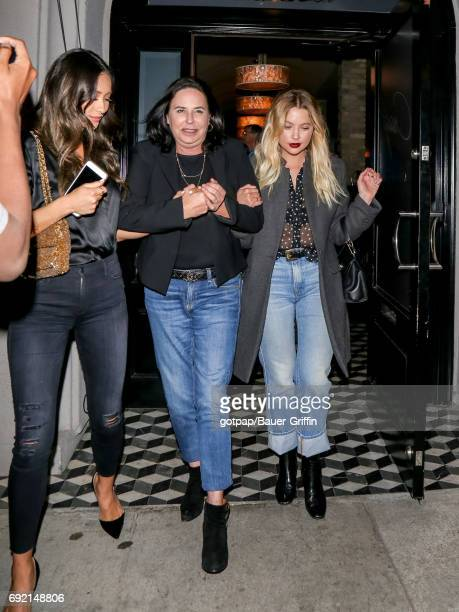 Shay Mitchell and Ashley Benson are seen on June 03 2017 in Los Angeles California