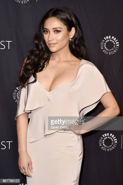 Shay Mitchell attends PaleyFest Los Angeles 2017 'Pretty Little Liars' at Dolby Theatre on March 25 2017 in Hollywood California