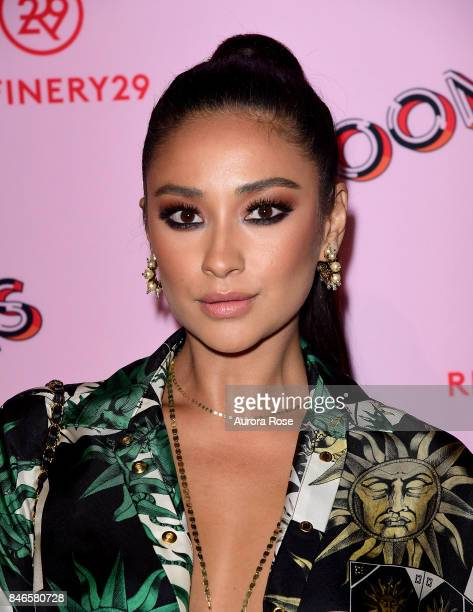 Shay Mitchell attends Refinery29's '29Rooms Turn It Into Art' at 106 Wythe Ave on September 7 2017 in New York City