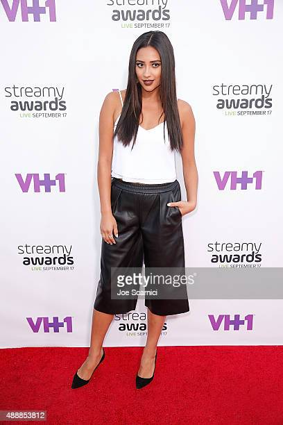 Shay Mitchell attends VH1's 5th Annual Streamy Awards at Hollywood Palladium on September 17 2015 in Los Angeles California
