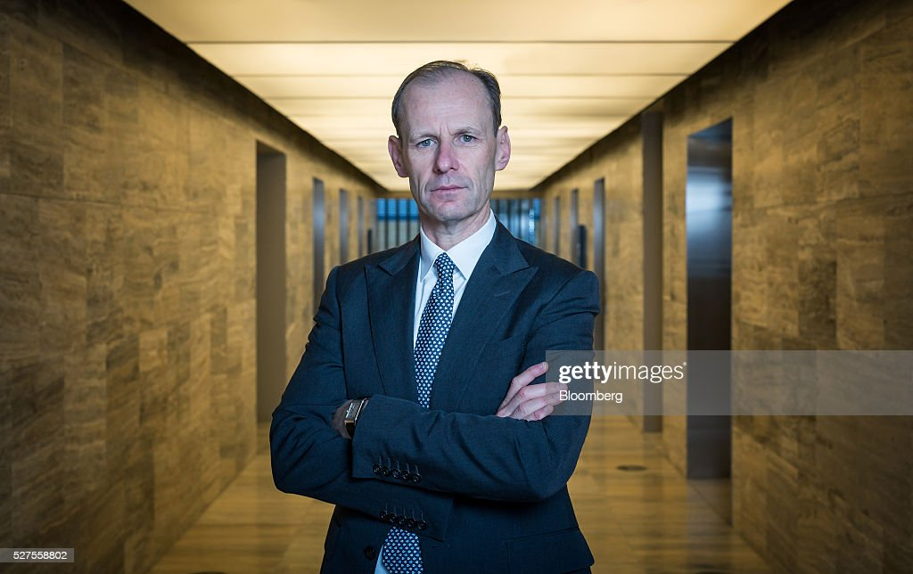 Shayne Elliott, chief executive officer of Australia & New Zealand Banking Group Ltd. (ANZ), poses for a photograph at the company's headquarters in Melbourne, Australia, on Tuesday, May 3, 2016. ANZ shares surged the most in two months as new CEO Elliott's plans to shrink the lender's Asian business further and write down the value of some of its assets offset the lowest half-year profit in six years. Photographer: Mark Dadswell/Bloomberg via Getty Images