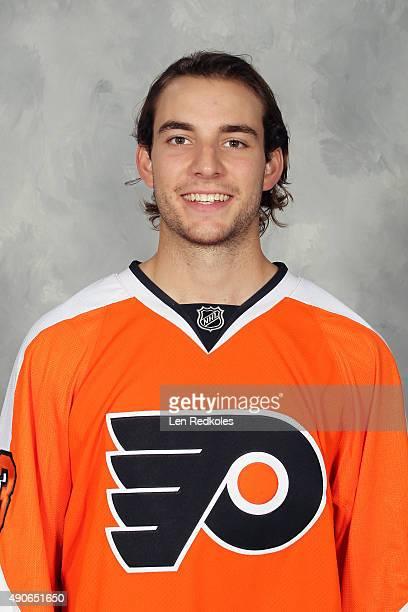 Shayne Gostisbehere of the Philadelphia Flyers poses for his official headshot for the 20152016 season on September 18 2015 at the Virtua Flyers...