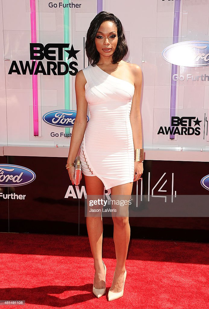Shayne Murphy attends the 2014 BET Awards at Nokia Plaza LA LIVE on June 29 2014 in Los Angeles California