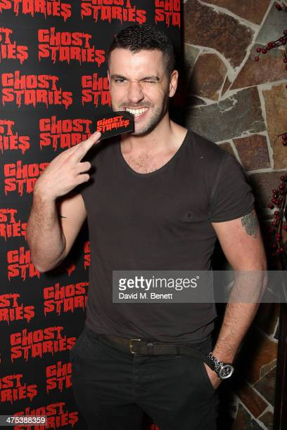 Shayne Ward attends the after party for the press night of 'Ghost Stories' at on February 27 2014 in London England