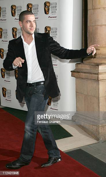 Shayne Ward during British Academy Television Awards Nominees Party April 20 2006 at The Landmark Hotel in London Great Britain
