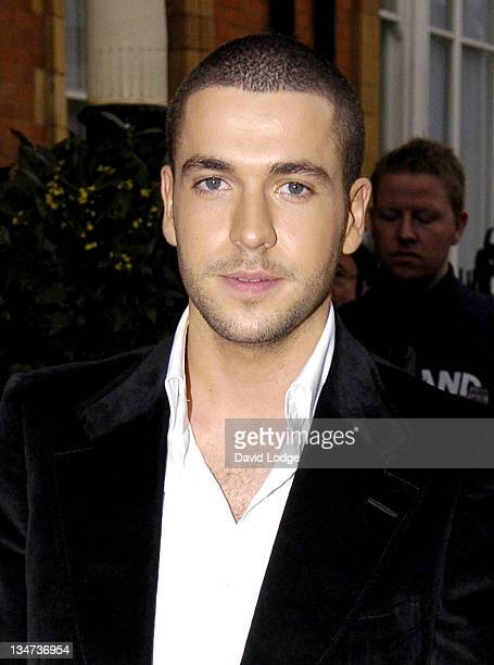 Shayne Ward during British Academy Television Awards Nominees Party April 20 2006 at The Landmark London Hotel in London Great Britain