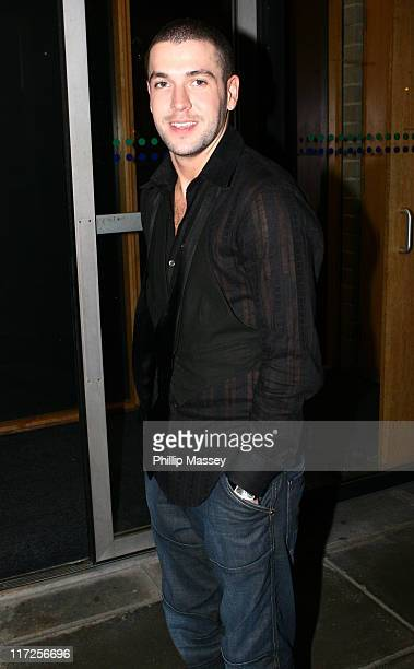 Shayne Ward during Late Late Show Arrivals December 1 2006 at RTE Studios in Dublin Ireland