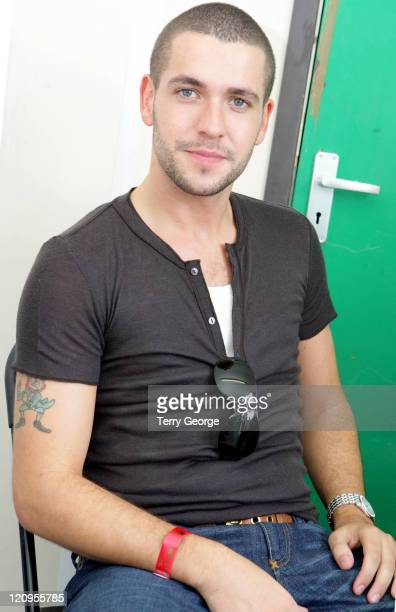 Shayne Ward during Party In The Park July 23 2006 at Temple Newsam in Leeds Great Britain