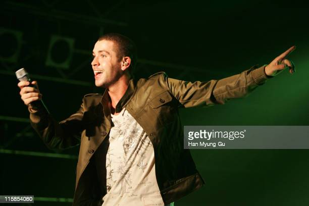 Shayne Ward during Shayne Ward Showcase at the Rolling Hall August 9 2006 at Rolling Hall in Seoul City Seoul South Korea
