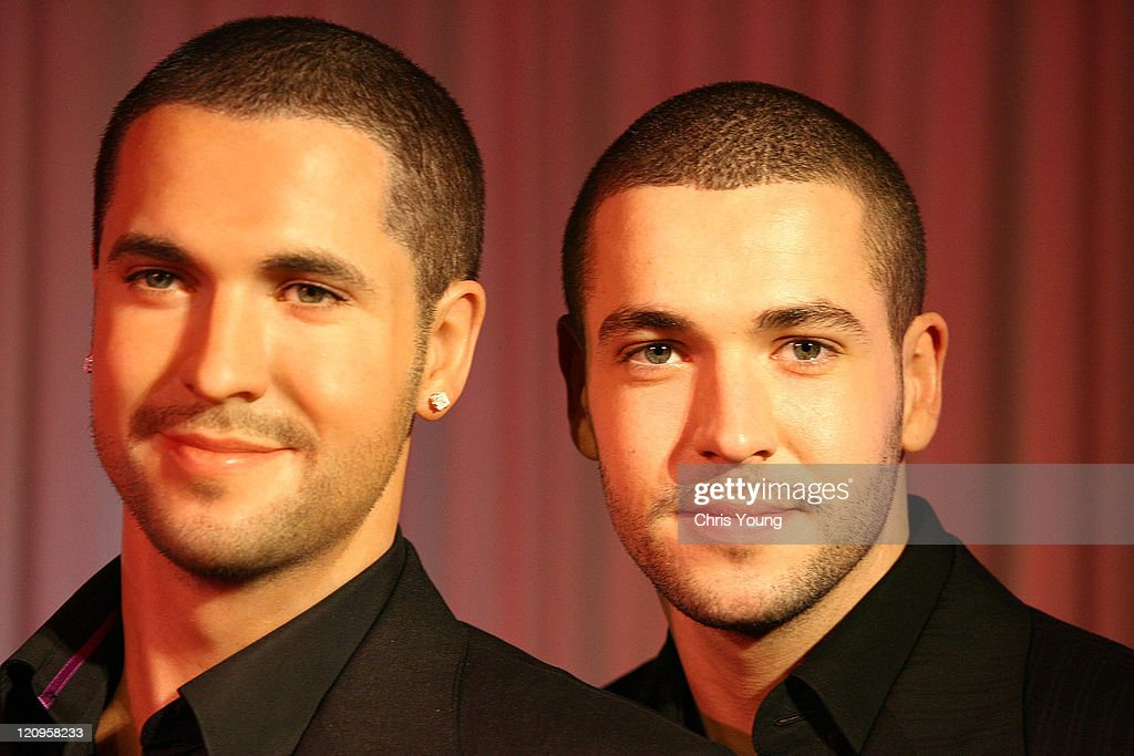 Shayne Ward Unveils His Wax Figure at Madame Tussauds in London - May 1, 2006
