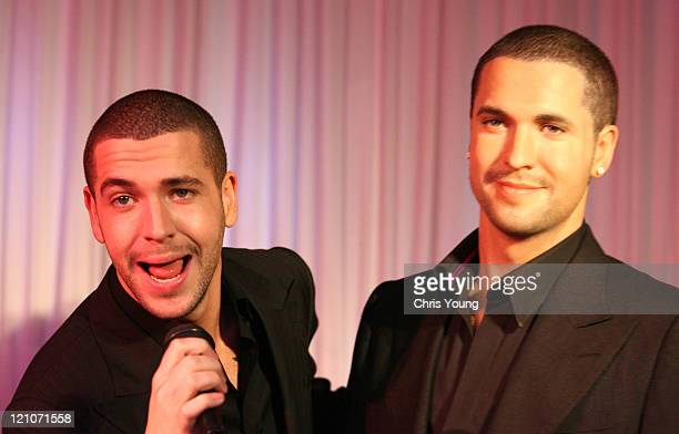 Shayne Ward during Shayne Ward Unveils His Wax Figure at Madame Tussauds in London May 1 2006 at Madame Tussauds in London Great Britain
