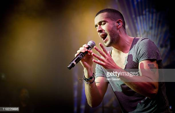 Shayne Ward performs at the O2 Shepherds Bush Empire on March 16 2011 in London England