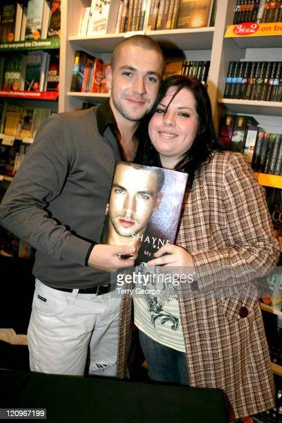 Shayne Ward with his twin sister Emma during Shayne Ward Signs His Autobiography 'Shayne Ward My Story' at Waterstones in Manchester November 26 2006...