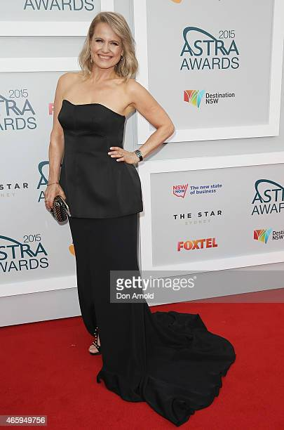 Shaynna Blaze arrives at the 2015 ASTRA Awards at the Star on March 12 2015 in Sydney Australia