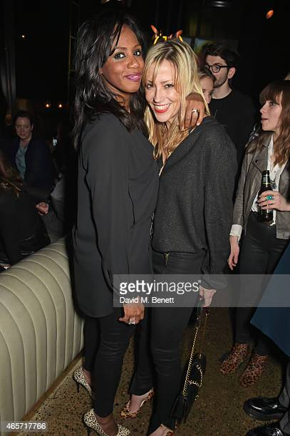 Shaznay Lewis and Nicole Appleton attend a party hosted by Instagram's Kevin Systrom and Jamie Oliver This is their second annual private party...