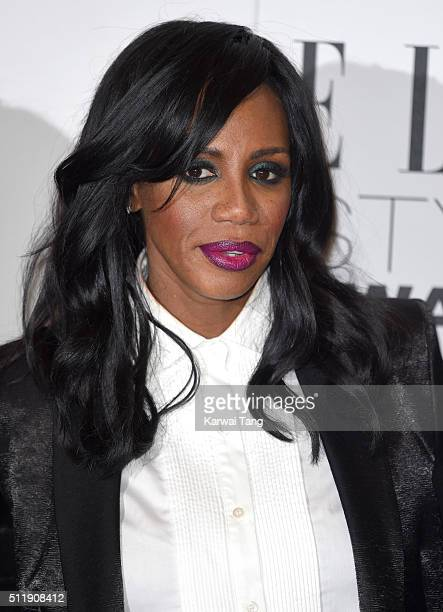 Shaznay Lewis attends The Elle Style Awards 2016 on February 23 2016 in London England