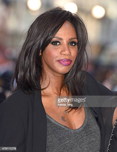 Shaznay Lewis attends the European Premiere of 'Magic Mike XXL' at Vue West End on June 30 2015 in London England