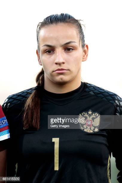 Shcerbak Tatiana of Russia during the Algarve Cup Tournament Match between Sweden W and Russia W on March 8 2017 in Albufeira Portugal