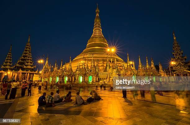 Shchewedagon pagoda