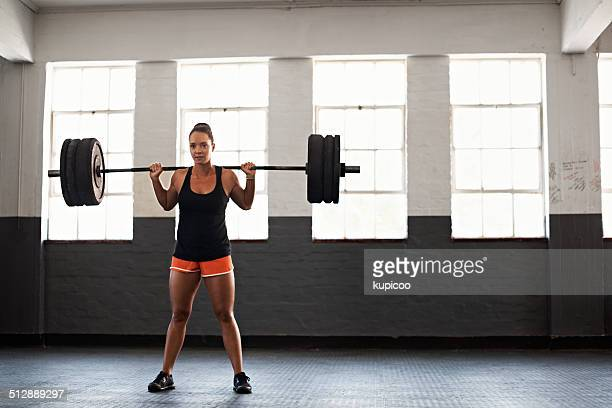 She can take the weight
