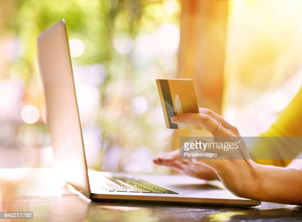 She finds the best deals when she shops online
