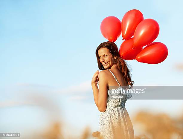 She had a heart lighter than balloons