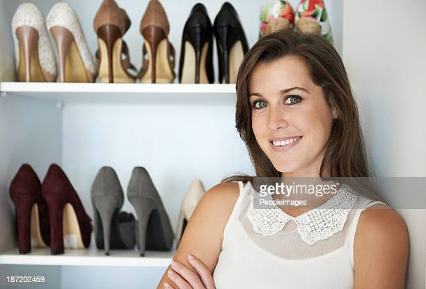 She has a great love of shoes