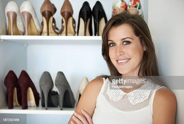 Ha una grande passione per le scarpe