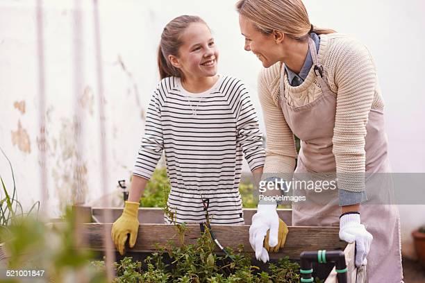 Vererbte Sie Ihre Liebe für den Garten von Ihrer Mutter
