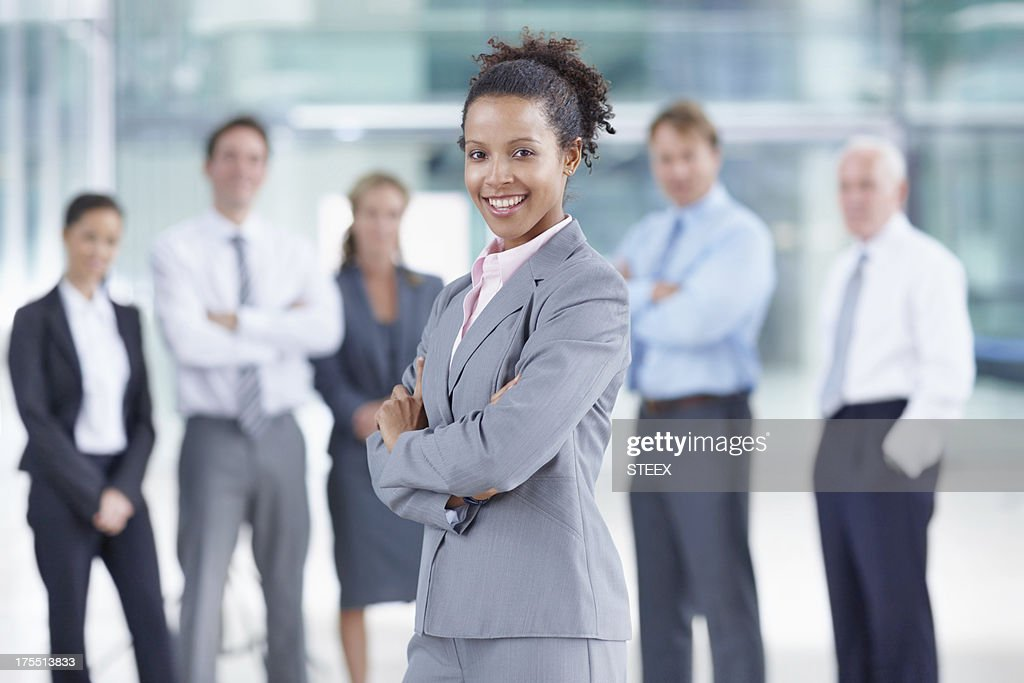 She is a talented new addition to the team : Stock Photo