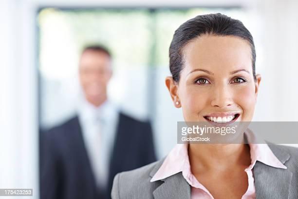 Sie weiß, wie es in der Unternehmenswelt!