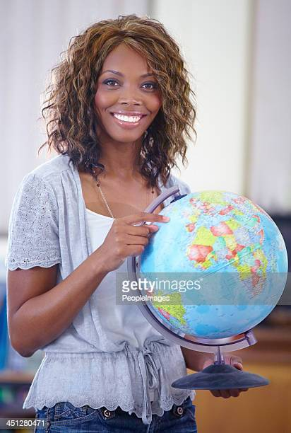 She loves geography