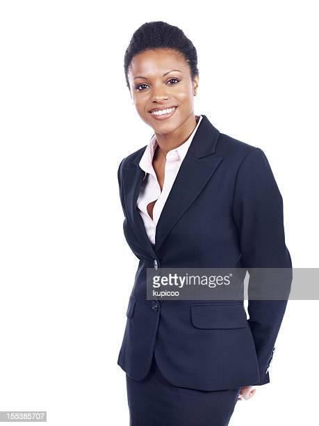 She sets a high standard - Business goals