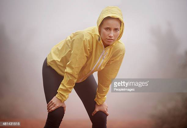 She trains in any weather