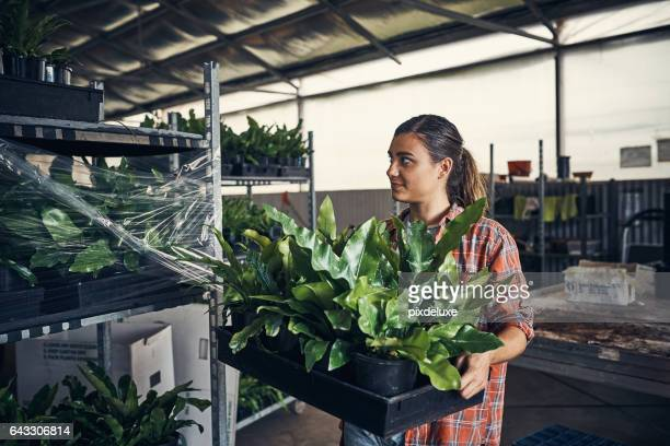 She turned her passion for plants into a business