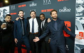 "Premiere Of STX Films' ""Den Of Thieves"" - Arrivals"