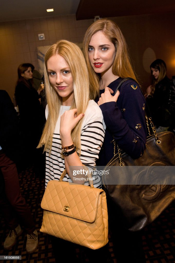 Shea Marie and <a gi-track='captionPersonalityLinkClicked' href=/galleries/search?phrase=Chiara+Ferragni&family=editorial&specificpeople=6755910 ng-click='$event.stopPropagation()'>Chiara Ferragni</a> attend the LXR & Co E-Commerce Launch At Empire Hotel Hosted By <a gi-track='captionPersonalityLinkClicked' href=/galleries/search?phrase=Chiara+Ferragni&family=editorial&specificpeople=6755910 ng-click='$event.stopPropagation()'>Chiara Ferragni</a> (The Blonde Salad) & Shea Marie (Peace, Love, Shea) at Empire Hotel on February 11, 2013 in New York City.
