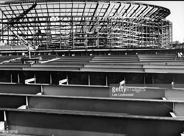 Shea Stadium under construction