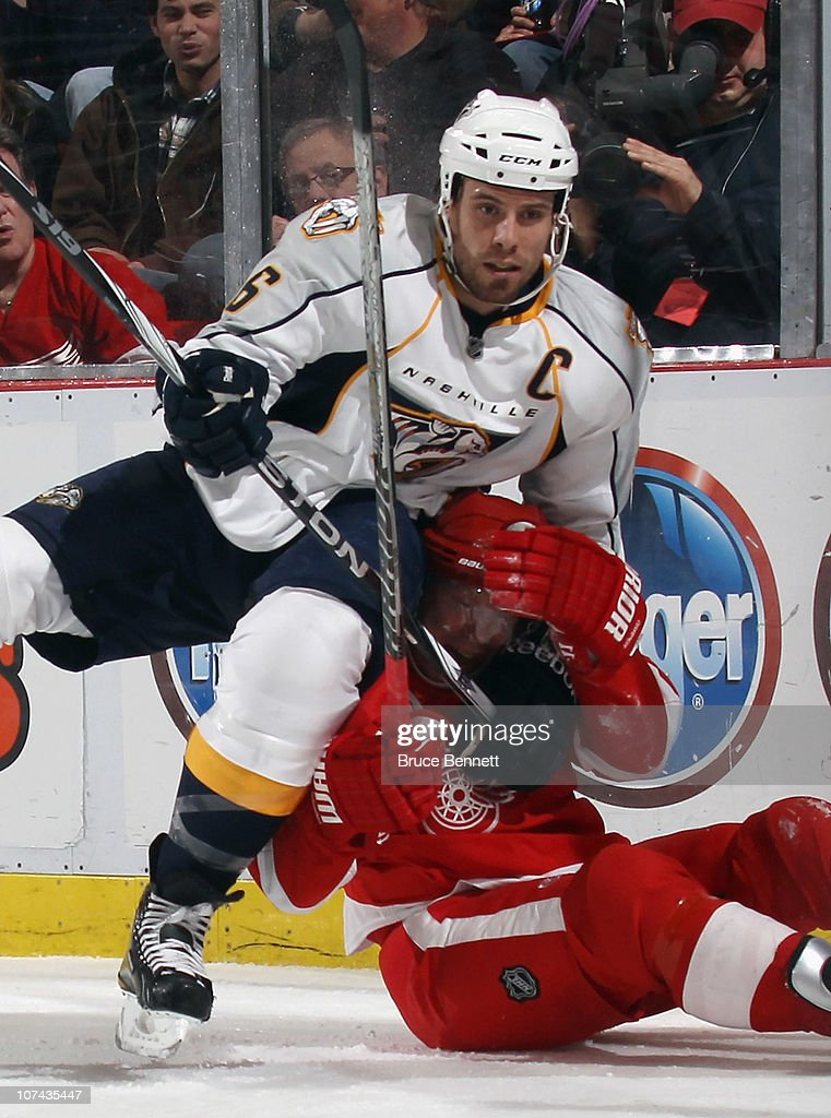 Nashville Predators v Detroit Red Wings