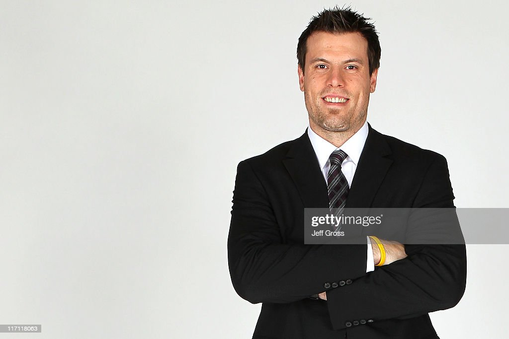 <a gi-track='captionPersonalityLinkClicked' href=/galleries/search?phrase=Shea+Weber&family=editorial&specificpeople=554412 ng-click='$event.stopPropagation()'>Shea Weber</a> of the Nashville Predators poses for a portrait during the 2011 NHL Awards at the Palms Casino Resort June 22, 2011 in Las Vegas, Nevada.