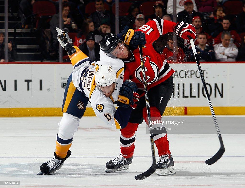 Nashville Predators v New Jersey Devils