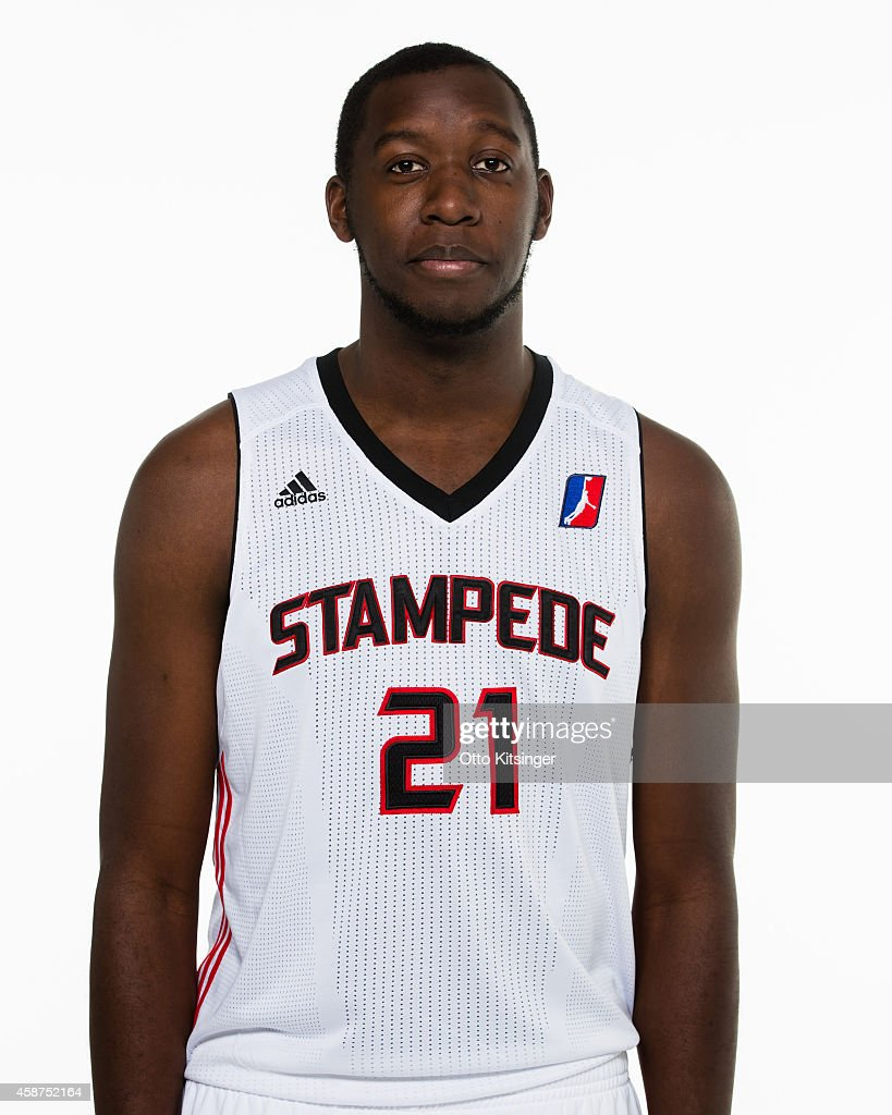 Shearry of the Idaho Stampede poses for a portrait during Media Day on November 9 2014 at CenturyLink Arena in Boise Idaho NOTE TO USER User...