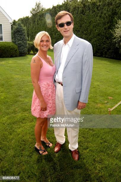 Sheehan Raab and George Dangas attend PULSE OF THE CITY GALA Comes To The Hamptons Hosted by the CARDIOVASCULAR RESEARCH FOUNDATION at Private...